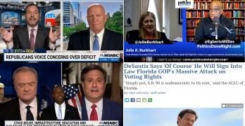 TrustWomen founder speaks, Chuck Todd dings GOP Rep, WH COS shades Tim Scott, FL voter suppression