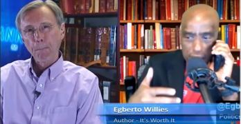 Thom Hartmann interviews Egberto Willies on America living up to 'All people are created equal.'