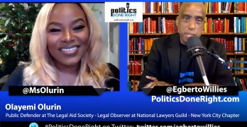 Olayemi Olurin, Public Defender, discusses our fraudulent criminal justice & immigration system