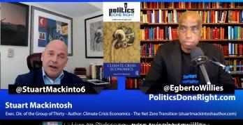 Stuart Mackintosh on Climate Crisis Economics - The Net Zero Transition