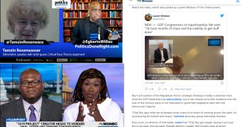 Critical Race Theory opposer, Joy-Ann Reid- founders' inconvenient truth, GOP say they want chaos
