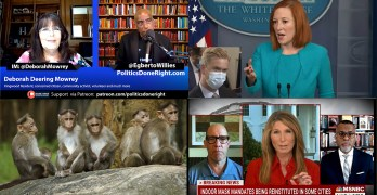 MSNBC Host- GOP pro-death, More in white spaces do this, Psaki embarasses Trump & Fox News Doocy