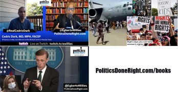 The Afghanistan fallacy-lie, Houston Dr. on COVID explosion, Reporter's silly question neutered