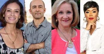 Marilyn Burgess jury reflecting Houston. Michael Levitin OWS 10th Anniv. Election 2022 win