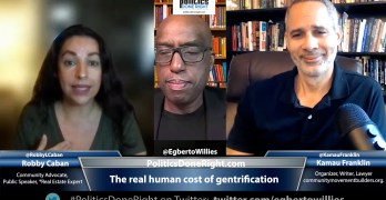 Robby Caban & Kamau Franklin discusses the real human cost of gentrification.