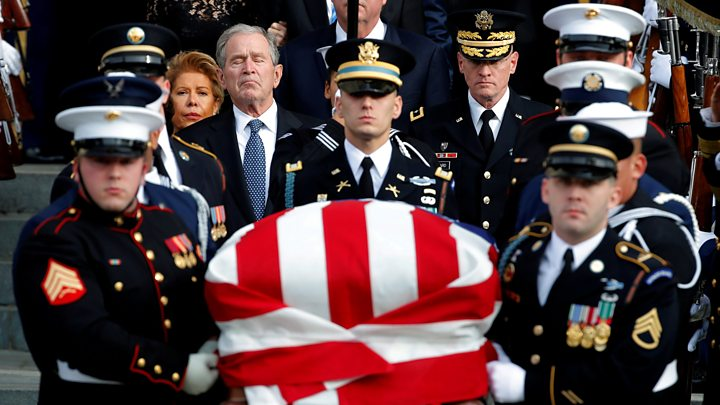 Bush Funeral, NC Vote Fraud, Lame Duck Legislation, Khashoggi Killing, Trump and China