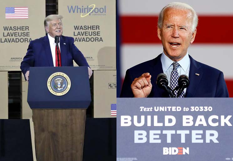 Election 2020: Trump and Biden on The Economy