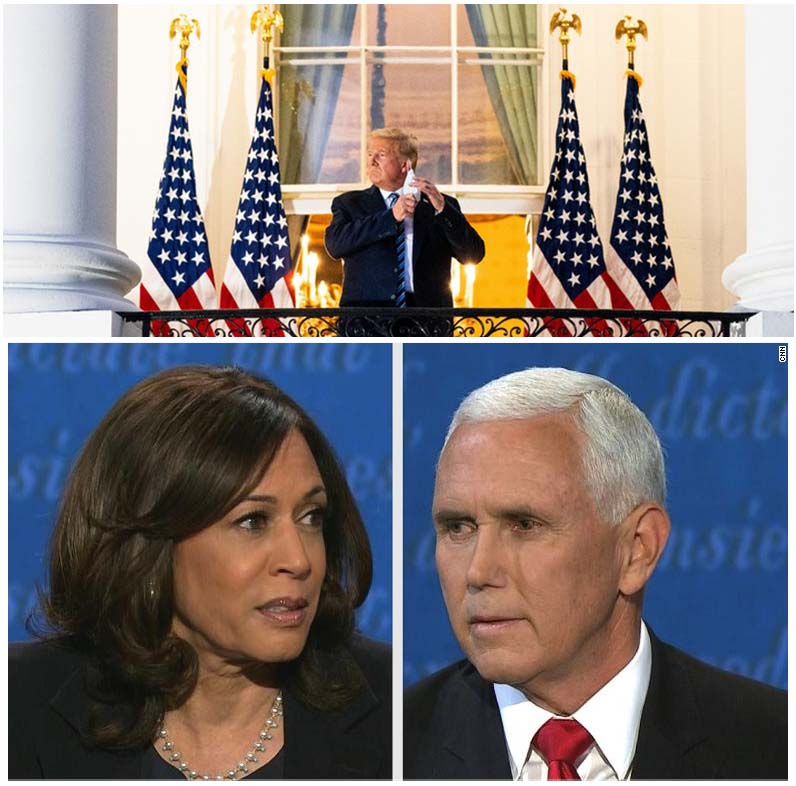 Election 2020: COVID Hits the White House, Trump Pulling out of Next Debate, VP Debate