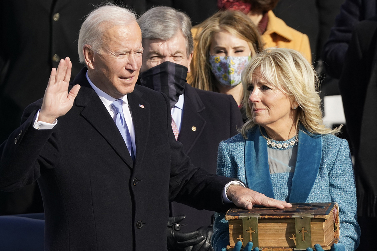 President Biden's Inauguration and Executive Actions