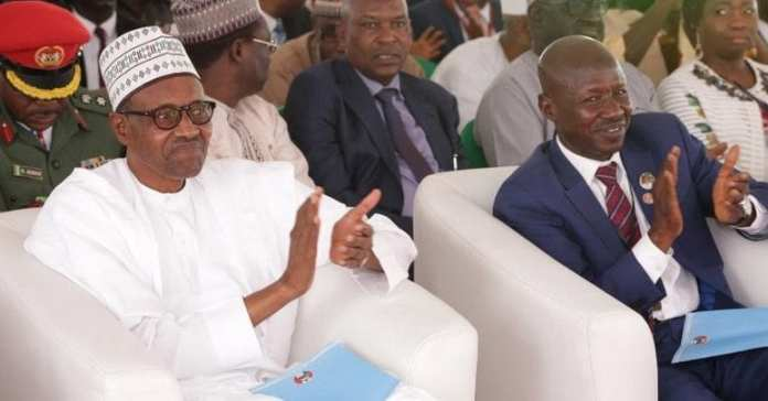 7 major things President Buhari revealed about Magu's Probe, Suspension