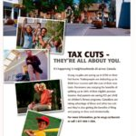 Harper is Testing A New Tax Cut Ad Campaign: Boo!