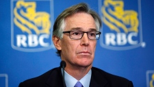 RBC CEO and 1%-er, Gord Nixon, looks sad. He's apologizing for getting caught replacing staff with TFWs. But Corporate media portrays him as apologetic, so banks aren't evil after all. Still, switch to a credit union anyway.
