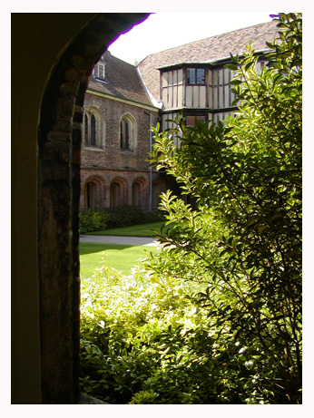 Queens' College, Masters lodge in Old Courtyard