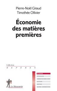 économie des matières premières