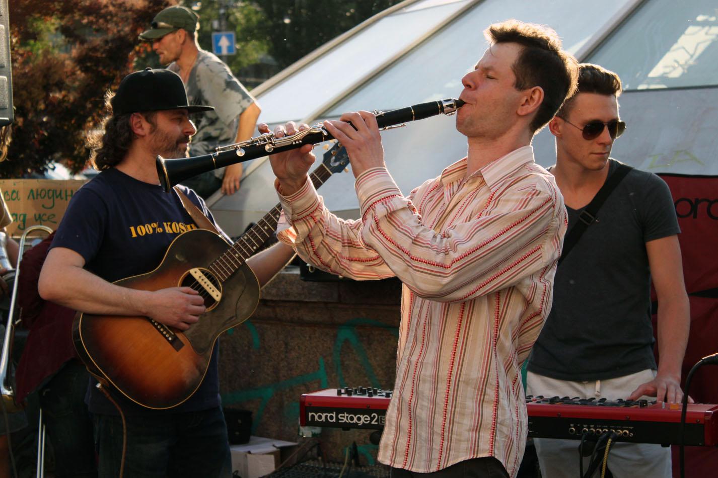 Pushkin Klezmer Band. Антипогромний концерт