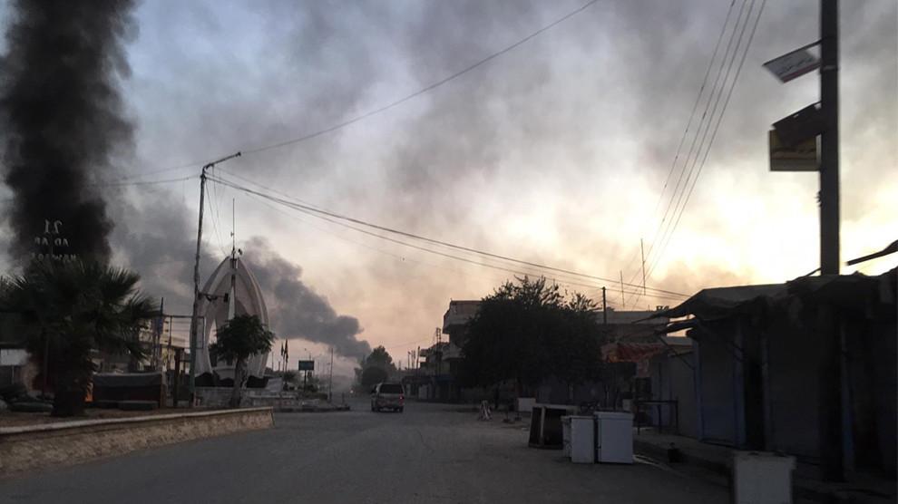 Турция атакует Сирийский Курдистан