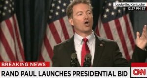 Rand Paul announces his run for the Presidency