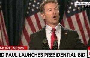 Rand Paul announces his run for the Presidency