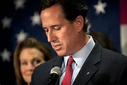 Rick Santorum announces his run for the Presidency