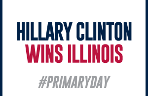 Hillary Clinton Wins Illinois