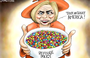 Hillary Skittle Policy - Halloween