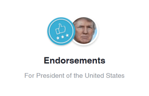 Endorse Trump Facebook