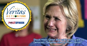 Hillary Clinton Project Veritas Action Fund