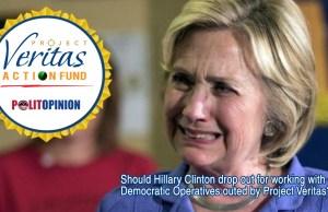 Hillary Clinton Project Veritas Action Fund