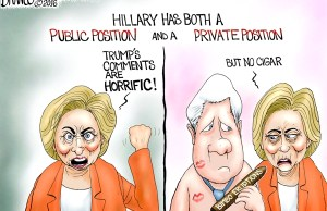 Public Private - Hillary Clinton