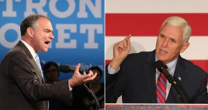 Vice Presidential Debate POLL - Tim Kaine vs. Mike Pence?