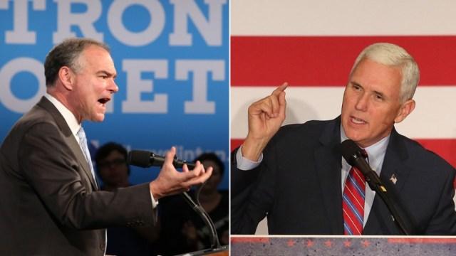 Vice Presidential Debate POLL - Tim Kaine vs. Mike Pence?