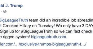 #BigLeagueTruth