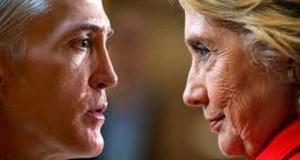 Hillary Clinton snaps