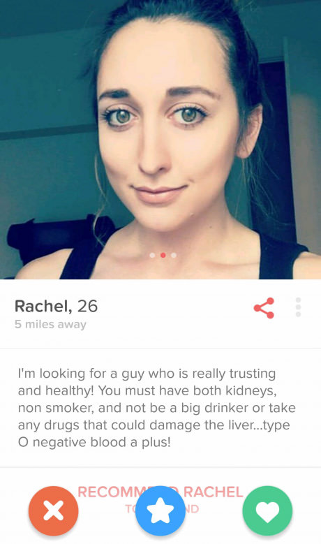Tinder Organ Donor