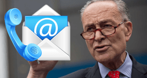 Call Chuck Schumer - Contact Senator Charles E. Schumer