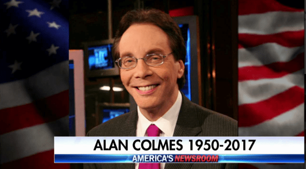 Alan Colmes of Hannity / Colmes Fame Dies at age 66