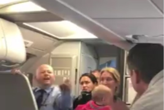 Another Airline Incident CAUGHT