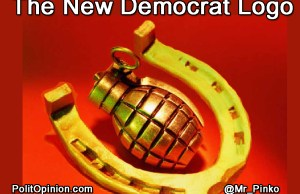 Democrat Logo Replaced