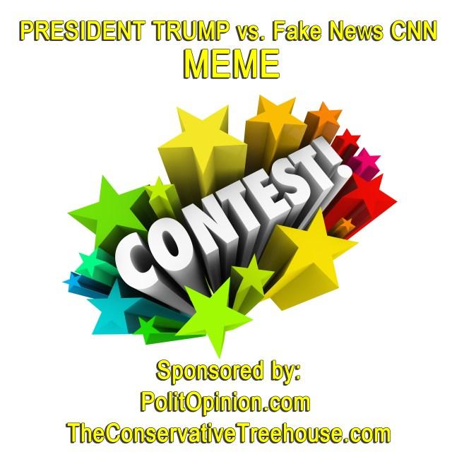 PRESIDENT TRUMP vs. Fake News CNN MEME CONTEST