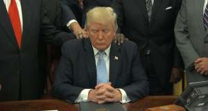 President Trump Offers Prayers to the Media!