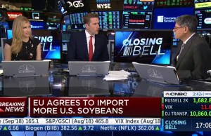 Former Treasury Secretary Jack Lew burnt by Trump's Trade Deal LIVE on the TV!