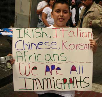 March 23 Immigrant Rights march, LA