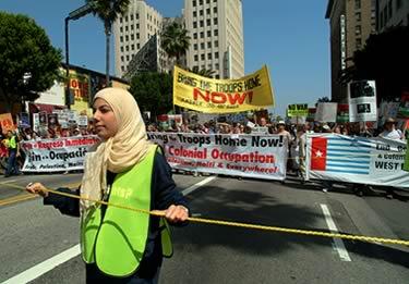 antiwar demonstration