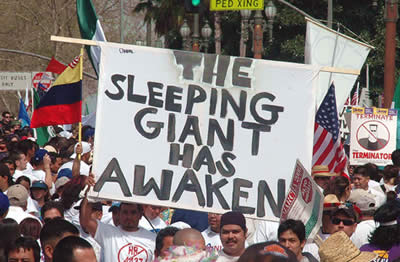 The sleeping giant has awaken