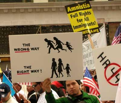 March 23 Immigrant Rights march, LA