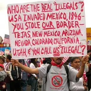 The real illegals
