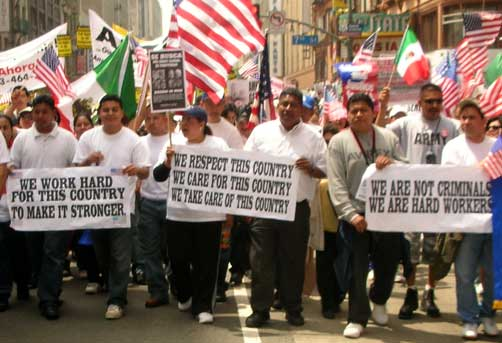 May 1 immigrant rights march