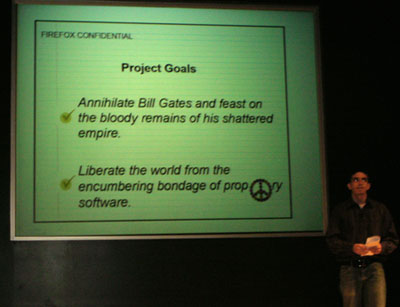 the secret Firefox project plans