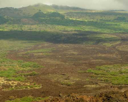 Kings Highway lava flow, Maui