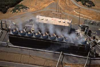 The Geysers geothermal plant